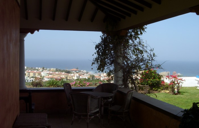 C3462. Large house with wonderful 360° views in desirable area of Puerto de la Cruz.