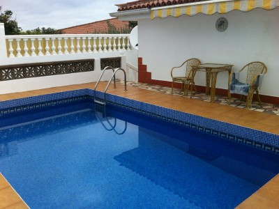 C3467. Detached house with pool and sea views