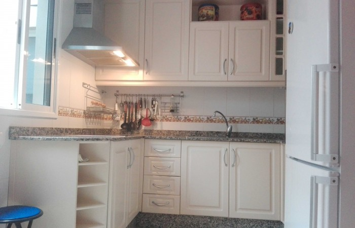A1239. Spacious apartment in the centre of El Sauzal with magnificent views.